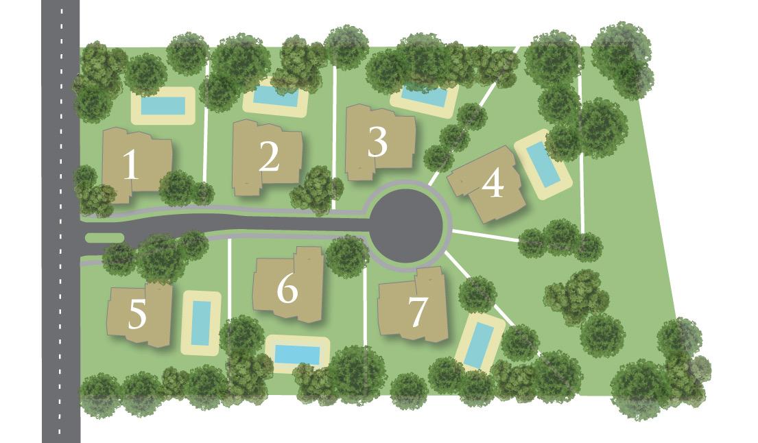Wisteria Meadows sitemap